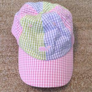 NWOT Vineyard Vines Gingham Patchwork Hat